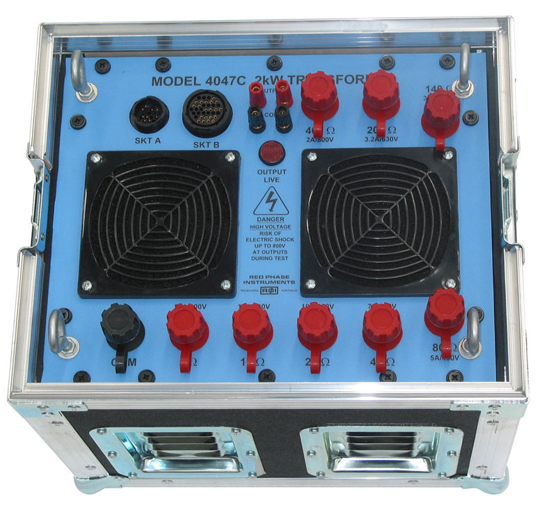 Red Phase Instruments - Earth Testing and Current Injection